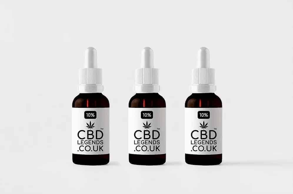 10% High Grade Organic Full Spectrum CBD Oil x3
