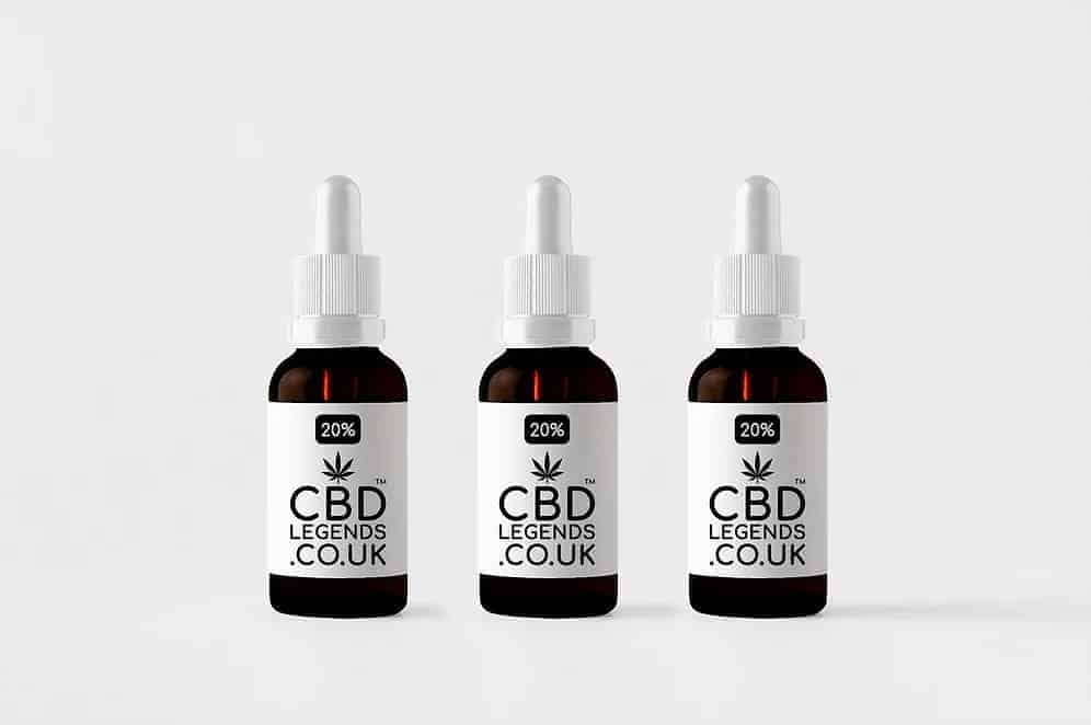 20% High Grade Organic Full Spectrum CBD Oil x3