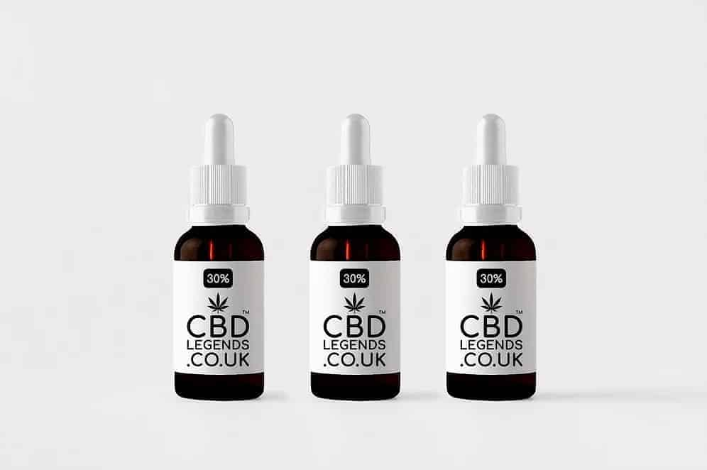 30% High Grade Organic Full Spectrum CBD Oil x3